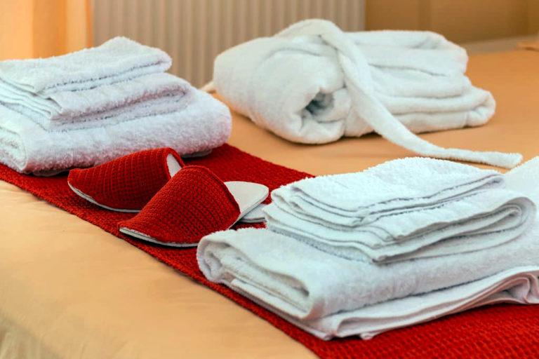 airbnb πετσετες